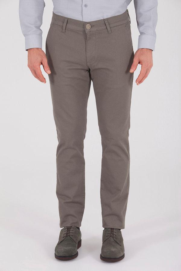 Haki Desenli Regular Pantolon