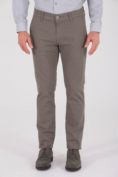 Haki Desenli Regular Pantolon - Thumbnail