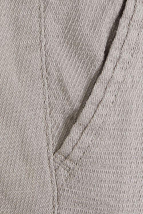 Gri Desenli Regular Fit Kanvas Pantolon