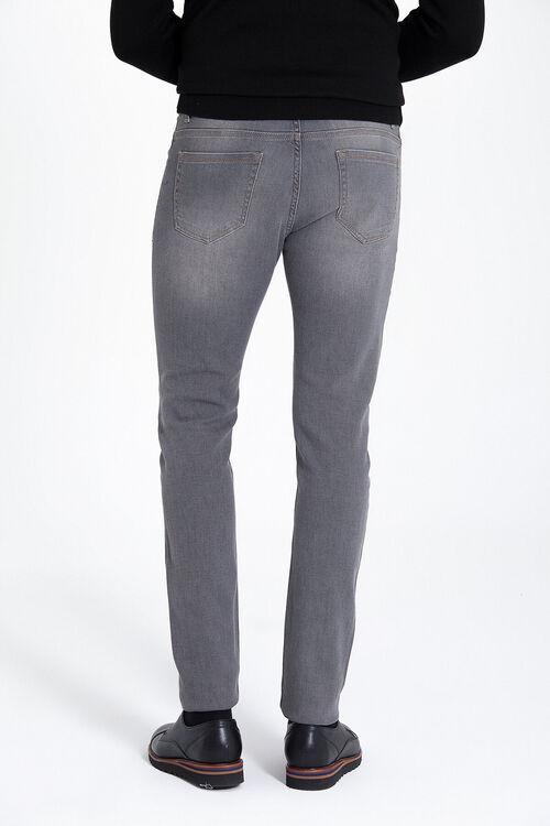 Gri Slim Fit Kot Pantolon