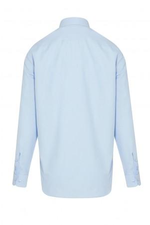 Mavi Basic Klasik Gömlek - Thumbnail