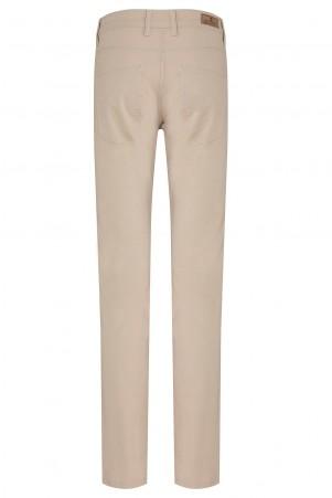 Bej Regular Kanvas Pantolon - Thumbnail