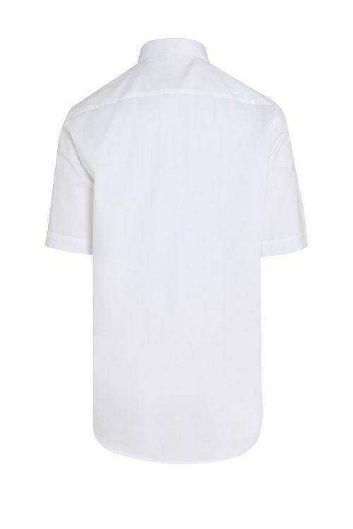 Beyaz Kısa Kol Klasik Gömlek
