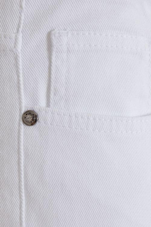 Beyaz Slim Fit Spor Pantolon