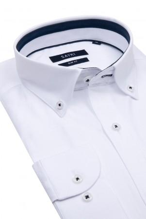 Beyaz Klasik Gömlek - Thumbnail