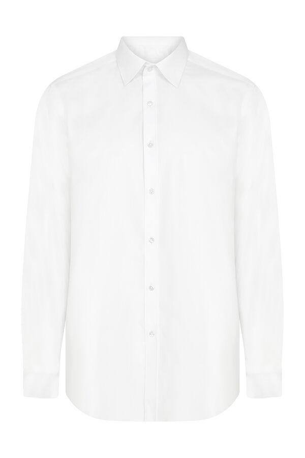 Regular Fit Beyaz Gömlek