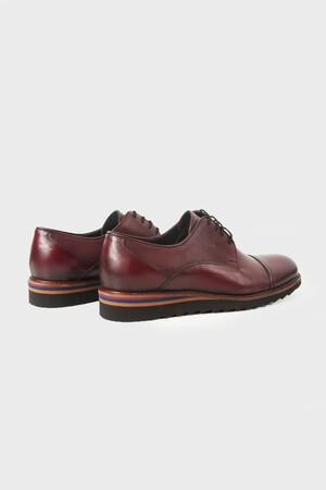 Bordo Klasik Ayakkabı - Thumbnail