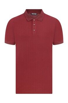 Bordo Polo Yaka Tişört