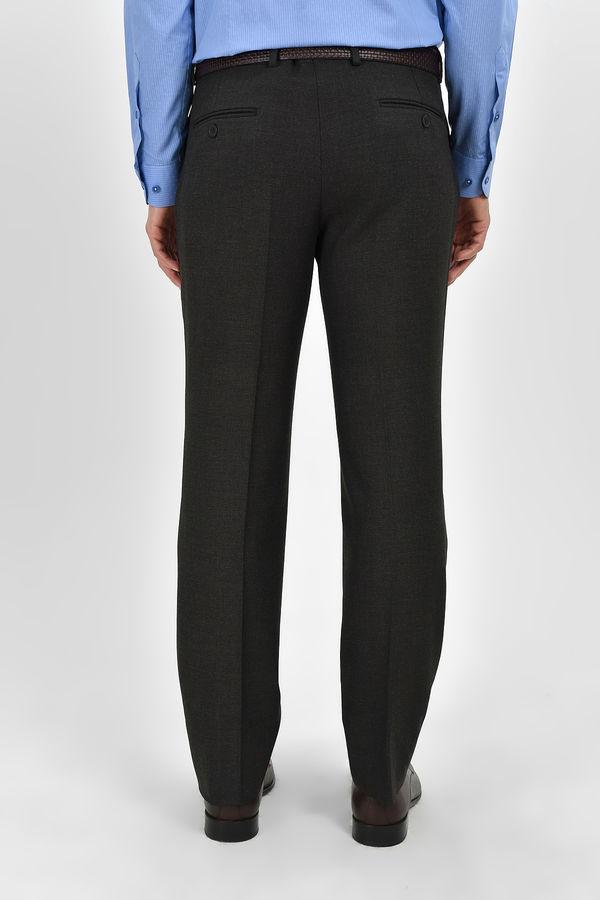 Kahverengi Slim Fit Kumaş Pantolon