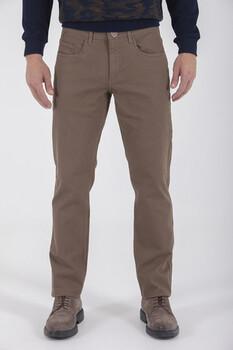 Kahverengi Regular Fit Spor Pantolon - Thumbnail