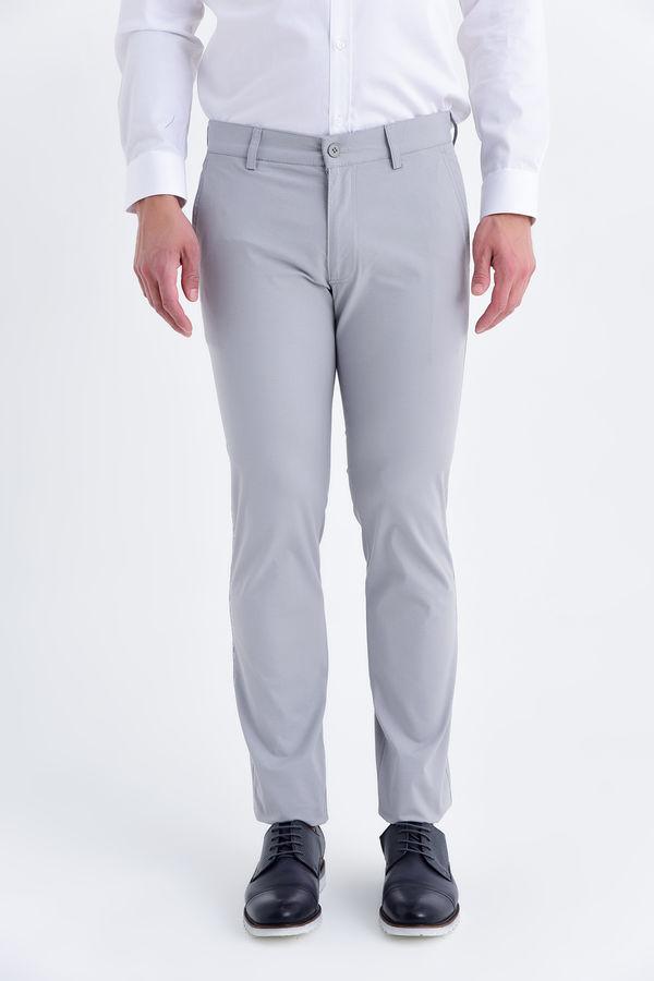 Desenli Regular Gri Pantolon
