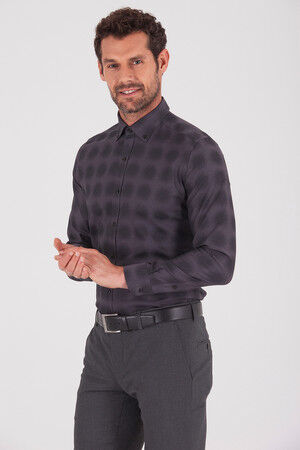 Desenli Slim Fit Gömlek