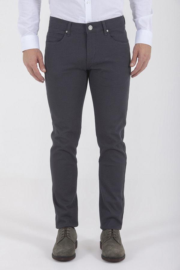 Gri Slim Fit Spor Pantolon