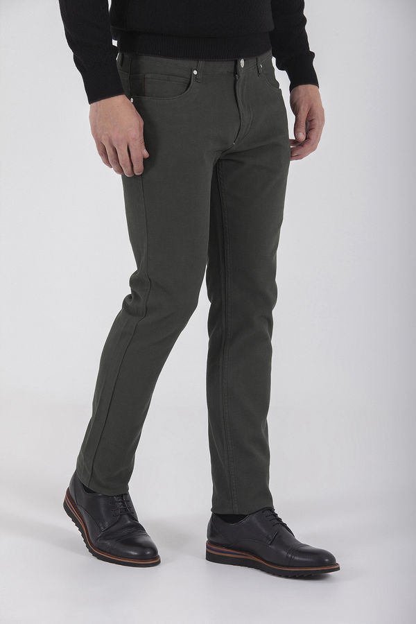 Haki Slim Fit Spor Pantolon