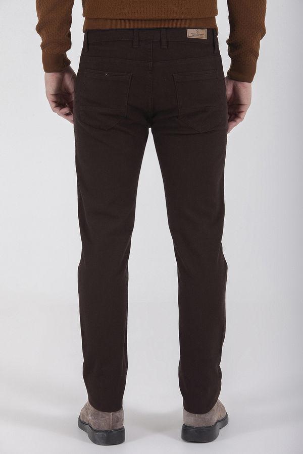 Kahverengi Slim Fit Spor Pantolon