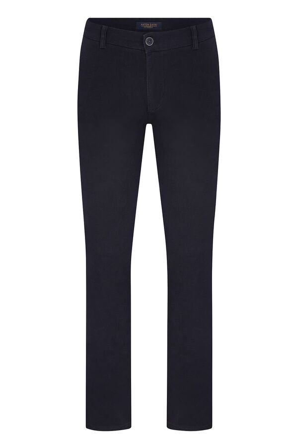 Lacivert Slim Fit Spor Pantolon