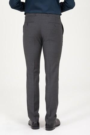 Antrasit Slim Fit Kumaş Pantolon - Thumbnail
