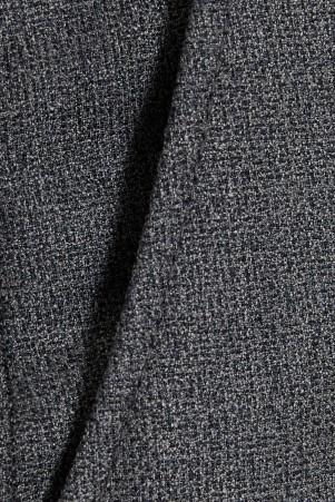 Gri Desenli Regular Fit Pantolon - Thumbnail