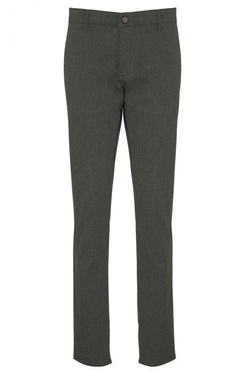 Haki Regular Fit Yandan Cep Pantolon