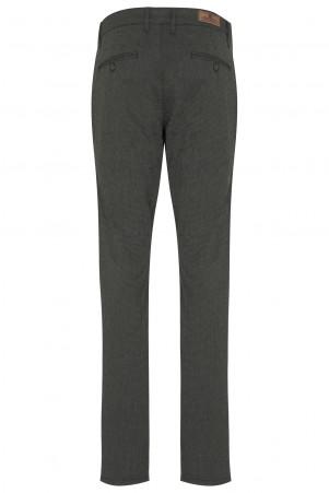 Haki Regular Fit Yandan Cep Pantolon - Thumbnail