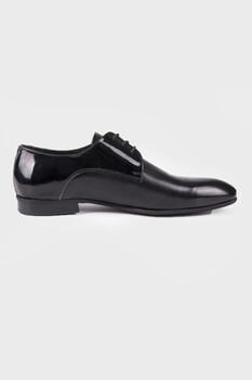 Siyah Klasik Oxford Ayakkabı - Thumbnail