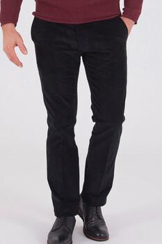 Kadife Siyah Pantolon - Thumbnail