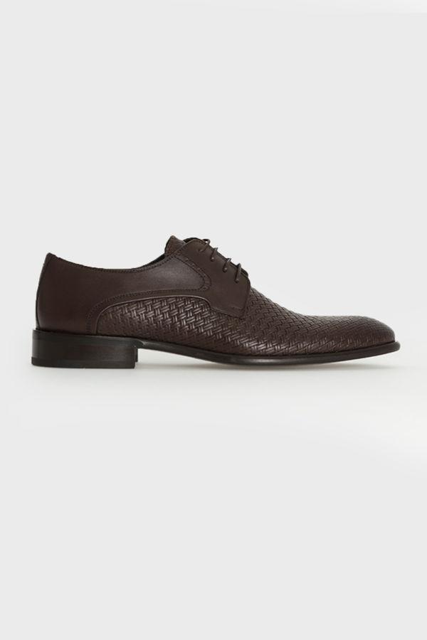 Kahverengi Klasik Oxford Ayakkabı