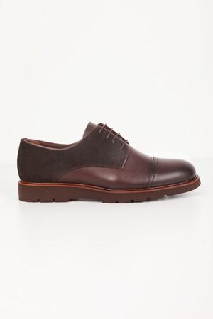 Kahverengi Günlük Oxford Ayakkabı - Thumbnail