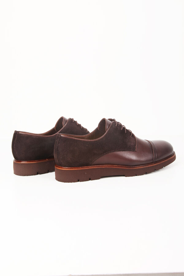 Kahverengi Günlük Oxford Ayakkabı