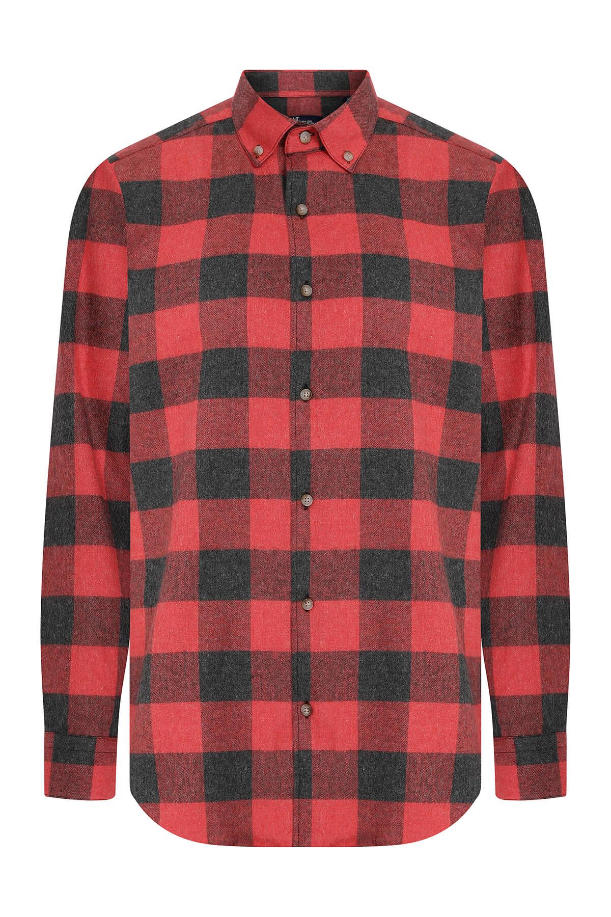 Kırmızı Kareli Oduncu Gömlek