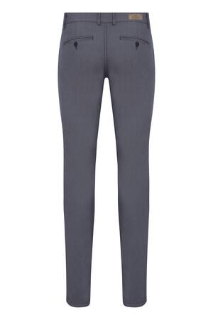 Lacivert Desenli Slim Fit Spor Pantolon - Thumbnail