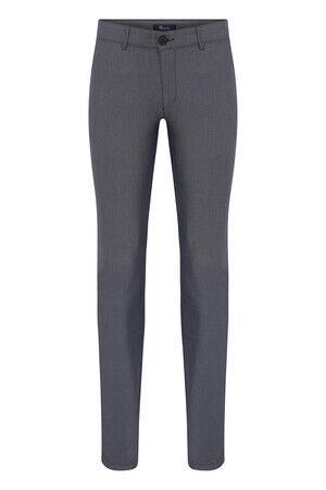 Lacivert Desenli Slim Fit Spor Pantolon