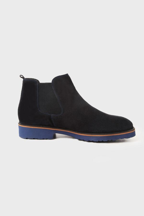 Lacivert Süet Ayakkabı