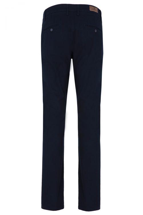Lacivert Regular Fit Kanvas Pantolon