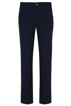 Lacivert Regular Fit Kanvas Pantolon - Thumbnail
