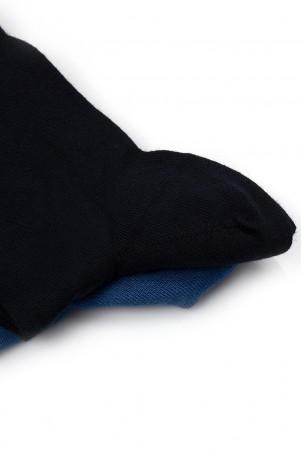 Lacivert - Mavi Basic Çorap - Thumbnail