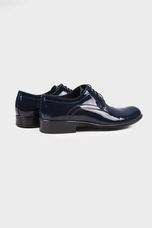 Lacivert Klasik Oxford Ayakkabı - Thumbnail