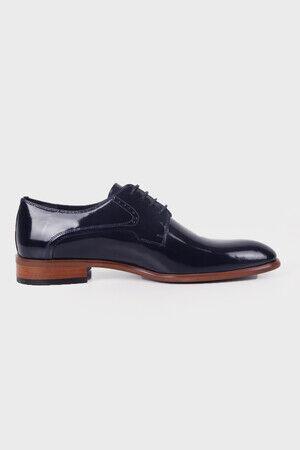 Lacivert Rugan Klasik Ayakkabı