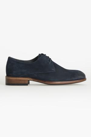 Lacivert Klasik Süet Ayakkabı - Thumbnail