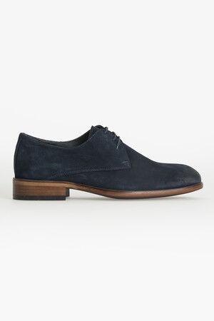 Lacivert Klasik Süet Ayakkabı