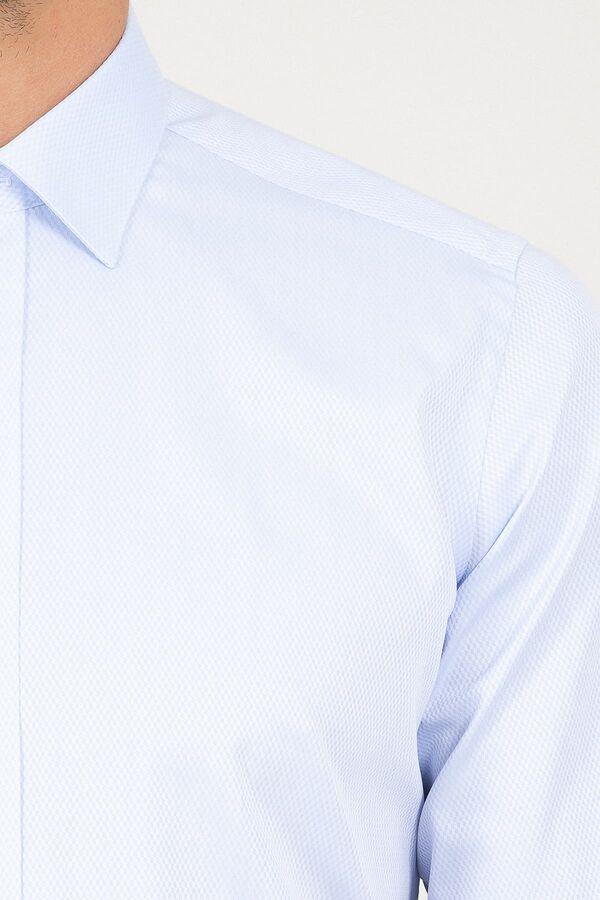 Regular Fit Buz Mavisi Gömlek