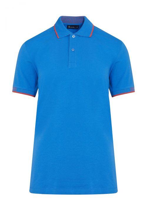 Mavi Polo Yaka Regular Fit Tişört