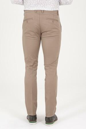 Bej Regular Fit Kanvas Pantolon - Thumbnail