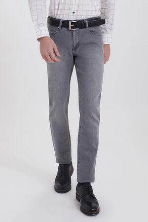 Gri Regular Fit Kot Pantolon