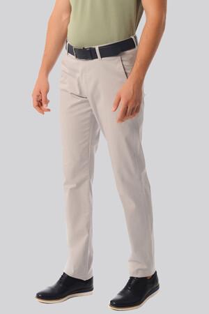 Regular Gri Pantolon - Thumbnail