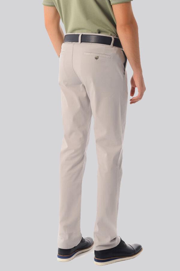 Regular Gri Pantolon