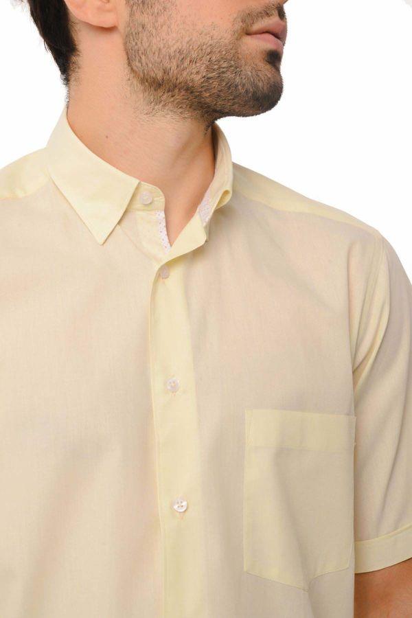 Regular Sarı Gömlek