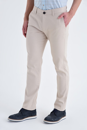 Ekru Regular Fit Spor Pantolon - Thumbnail