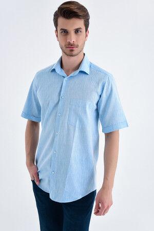 Regular Turkuaz Gömlek