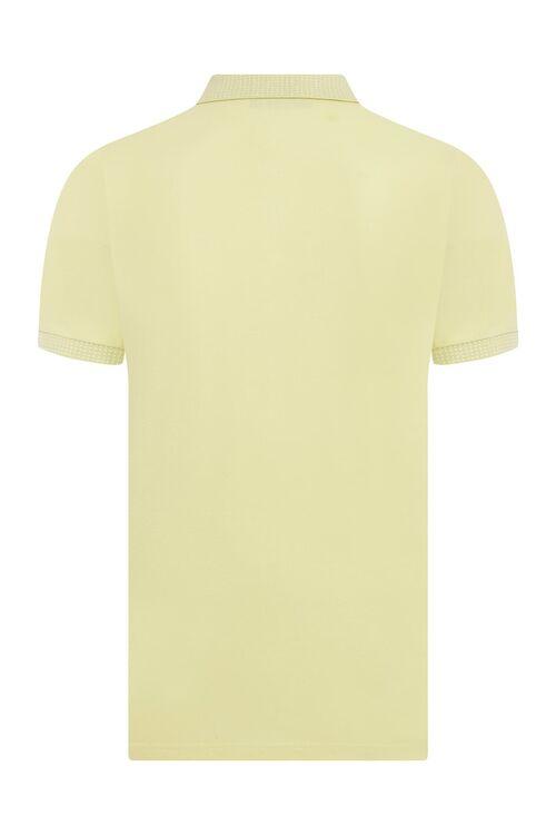 Sarı Polo Yaka Tişört
